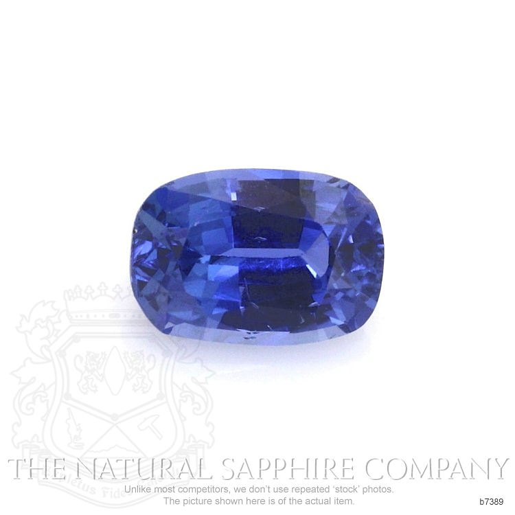 Natural Untreated Blue Sapphire B7389 Image