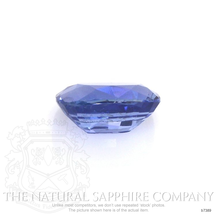 Natural Untreated Blue Sapphire B7389 Image 2