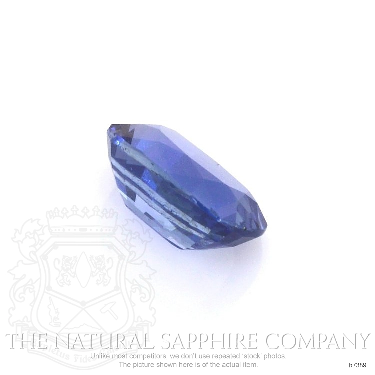 Natural Untreated Blue Sapphire B7389 Image 3