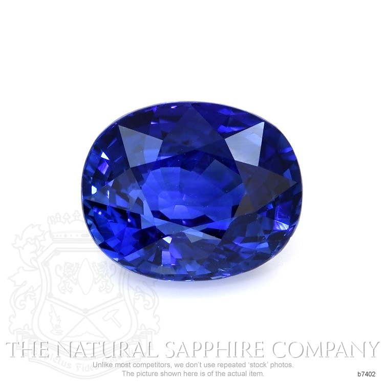 Natural Blue Sapphire B7402 Image