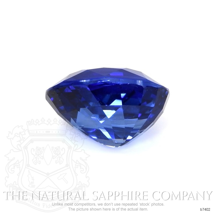 Natural Blue Sapphire B7402 Image 2