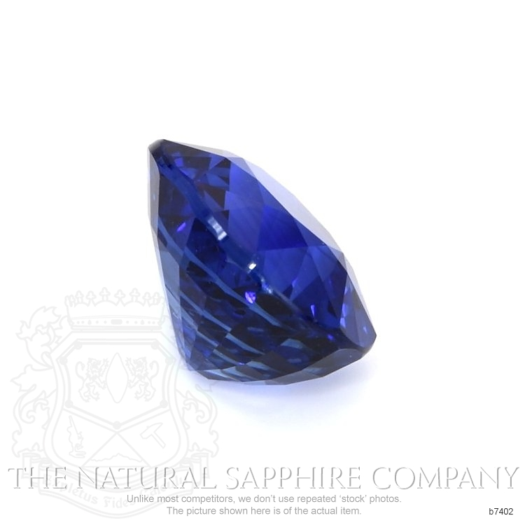 Natural Blue Sapphire B7402 Image 3