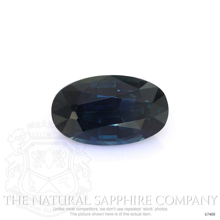 Natural Untreated Blue Sapphire B7469 Image