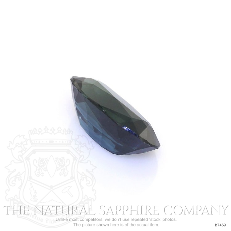 Natural Untreated Blue Sapphire B7469 Image 3