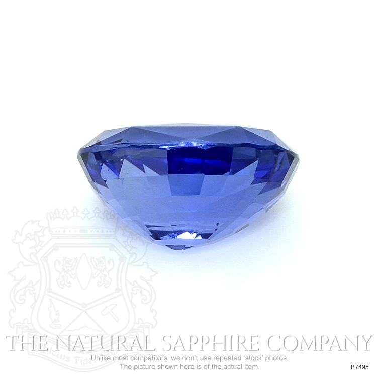 Natural Untreated Blue Sapphire B7495 Image 2
