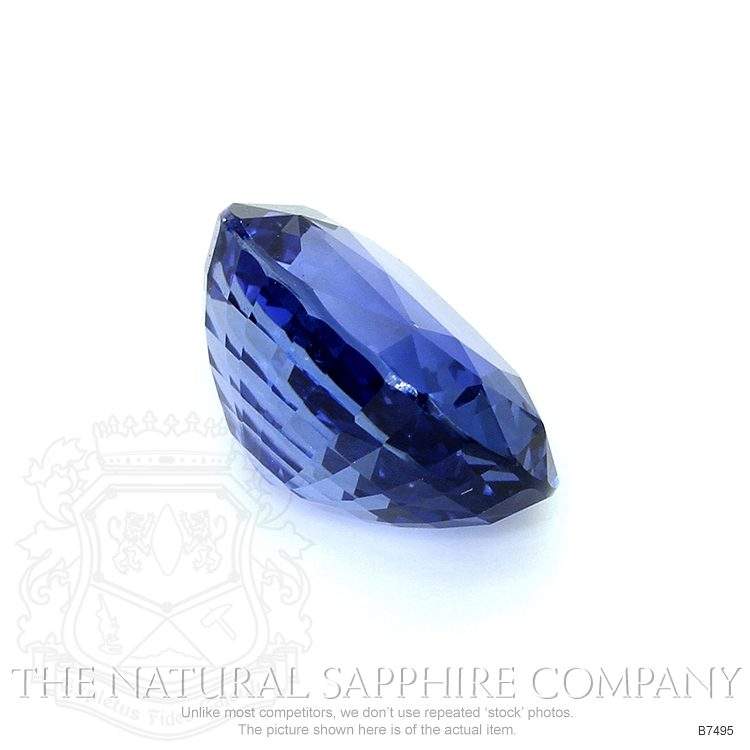 Natural Untreated Blue Sapphire B7495 Image 3