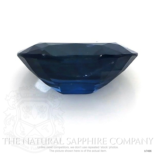 Natural Untreated Blue Sapphire B7496 Image 2