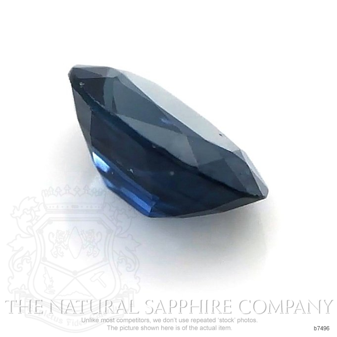 Natural Untreated Blue Sapphire B7496 Image 3
