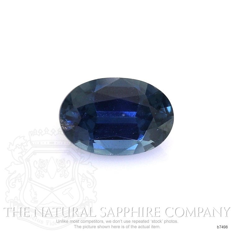 Natural Untreated Blue Sapphire B7498 Image