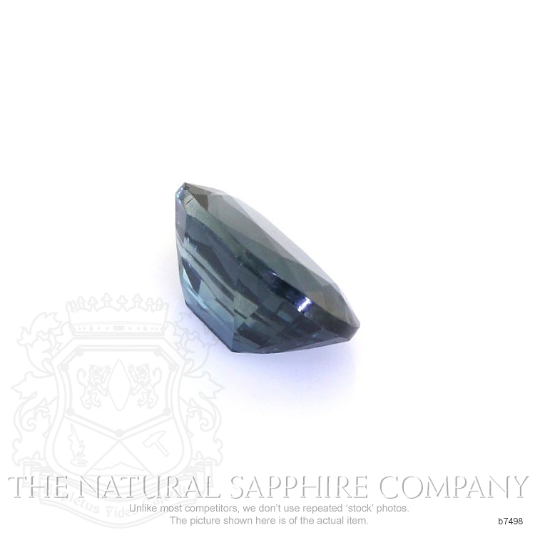 Natural Untreated Blue Sapphire B7498 Image 3