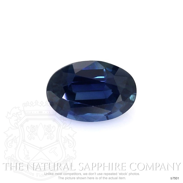 Natural Untreated Blue Sapphire B7501 Image