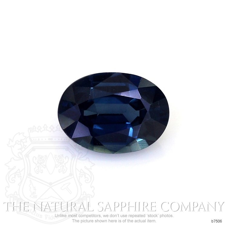 Natural Untreated Blue Sapphire B7506 Image