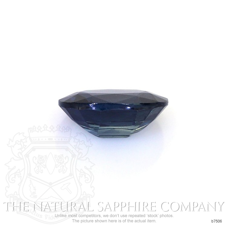 Natural Untreated Blue Sapphire B7506 Image 2