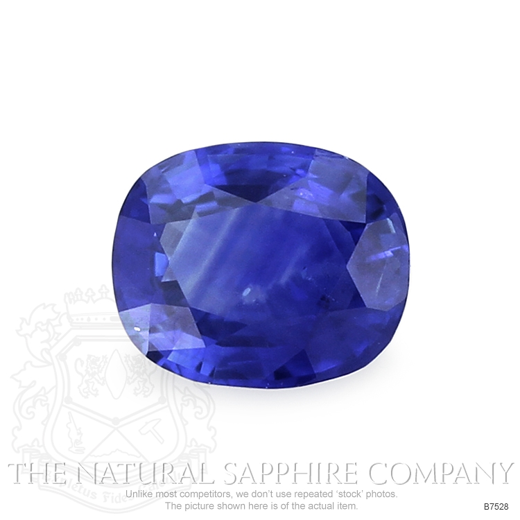 Natural Blue Sapphire B7528 Image