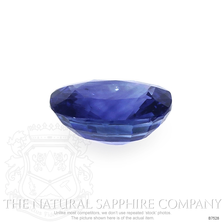 Natural Blue Sapphire B7528 Image 2