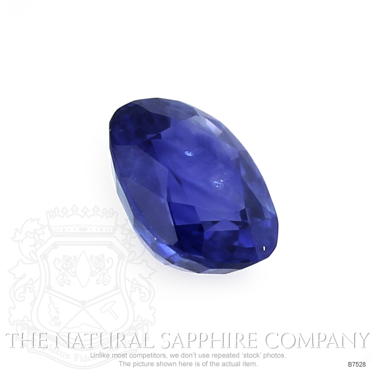 Natural Blue Sapphire B7528 Image 3