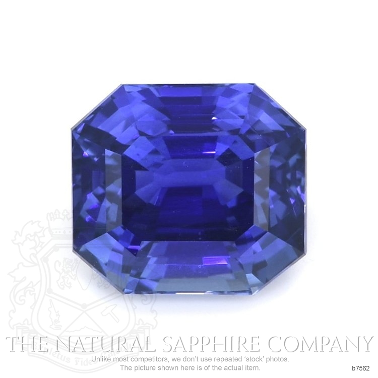 Natural Blue Sapphire B7562 Image