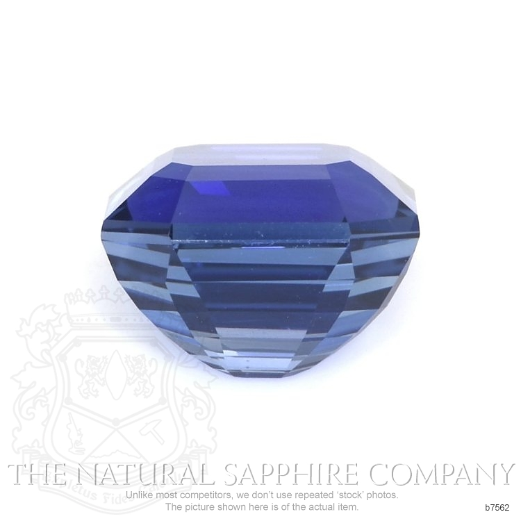 Natural Blue Sapphire B7562 Image 2