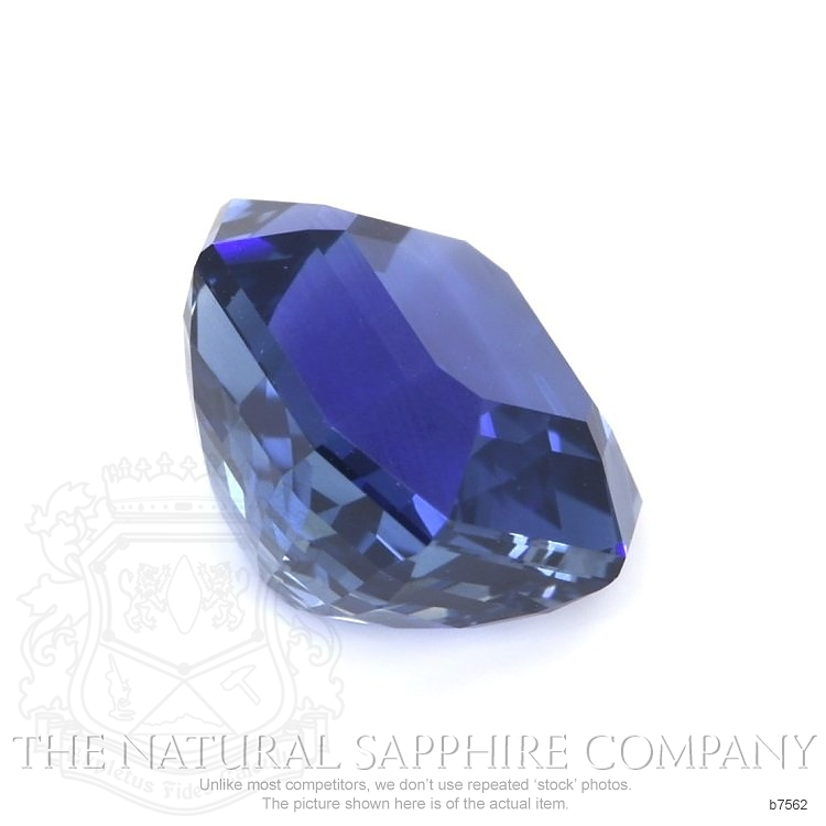 Natural Blue Sapphire B7562 Image 3