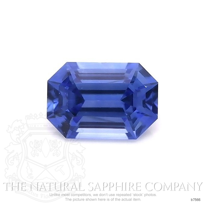 Natural Untreated Blue Sapphire B7566 Image