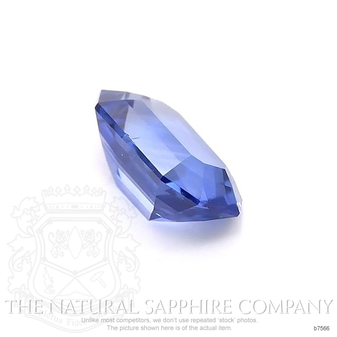 Natural Untreated Blue Sapphire B7566 Image 3