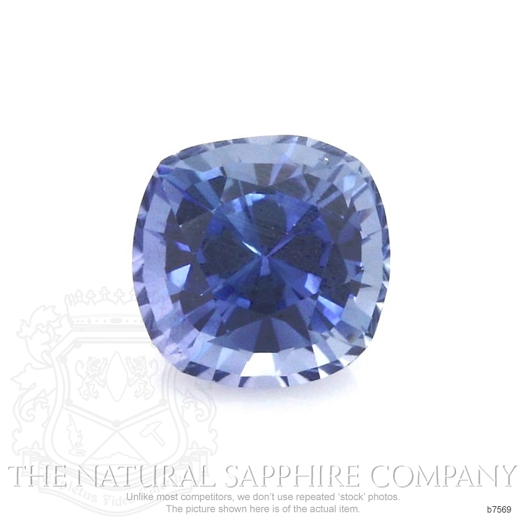 Natural Untreated Blue Sapphire B7569 Image