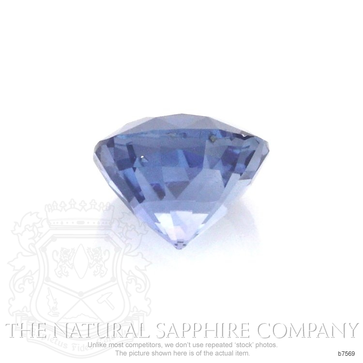 Natural Untreated Blue Sapphire B7569 Image 2