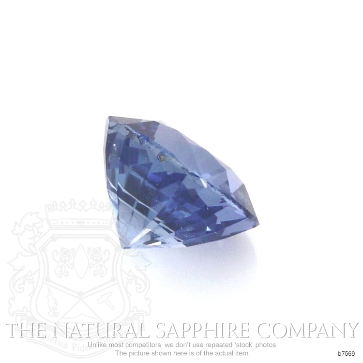 Natural Untreated Blue Sapphire B7569 Image 3