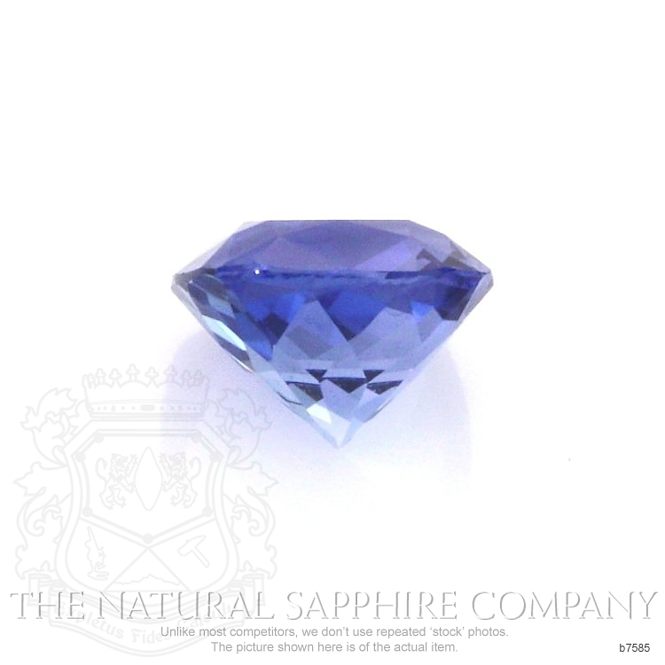 Natural Blue Sapphire B7585 Image 2
