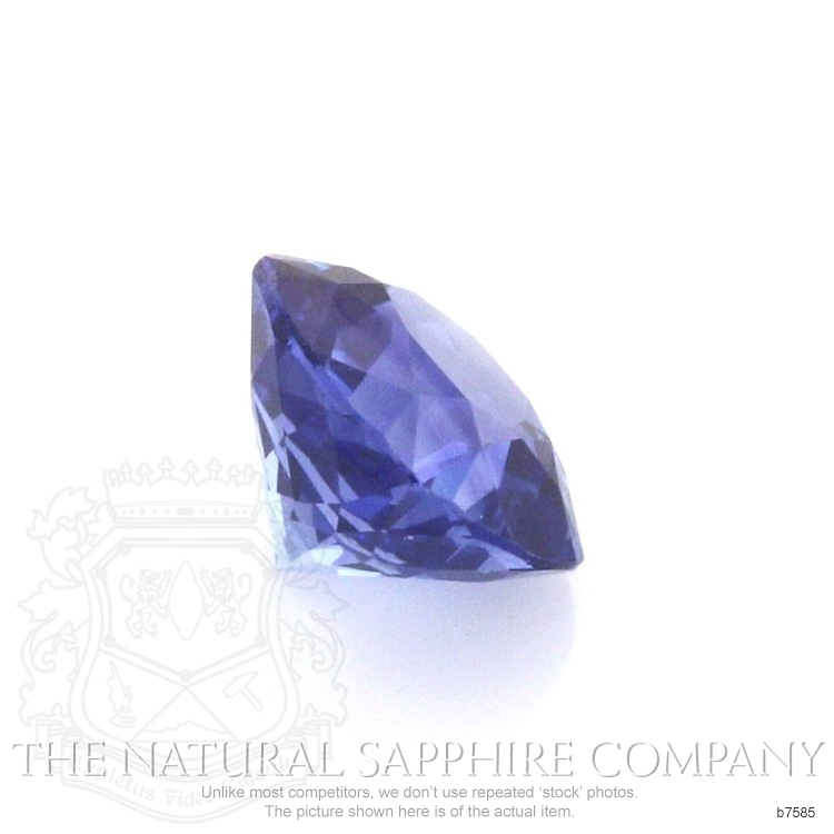 Natural Blue Sapphire B7585 Image 3