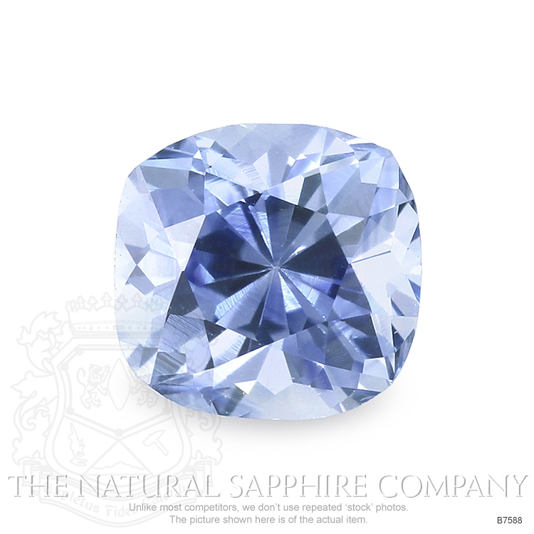 Natural Blue Sapphire B7588 Image