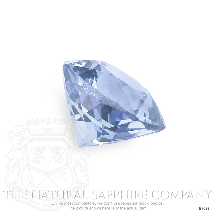 Natural Blue Sapphire B7588 Image 3
