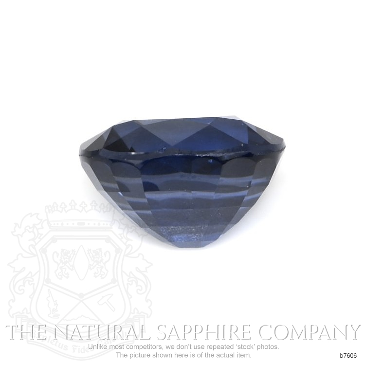 Natural Untreated Blue Sapphire B7606 Image 2