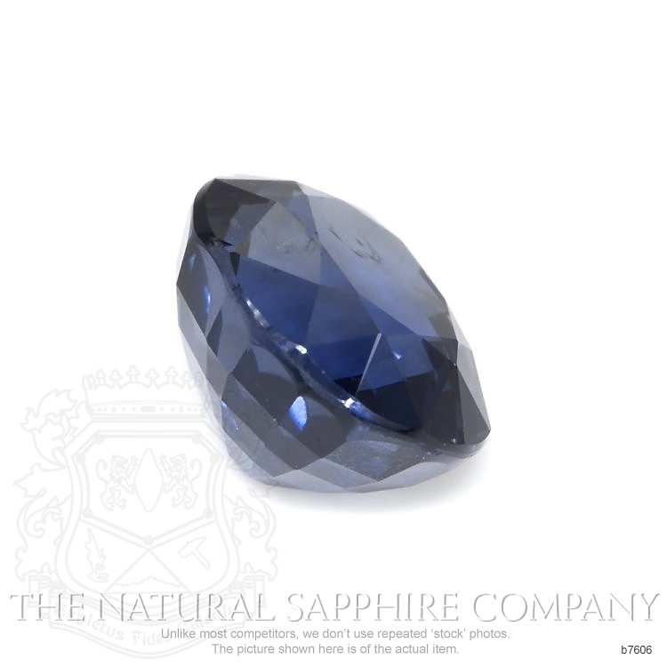 Natural Untreated Blue Sapphire B7606 Image 3