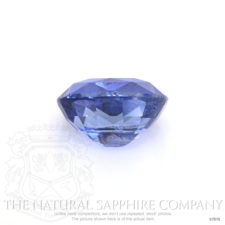 Natural Untreated Blue Sapphire B7610 Image 2