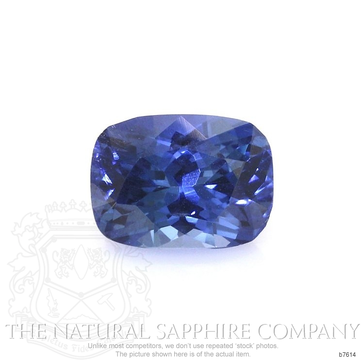 Natural Blue Sapphire B7614 Image