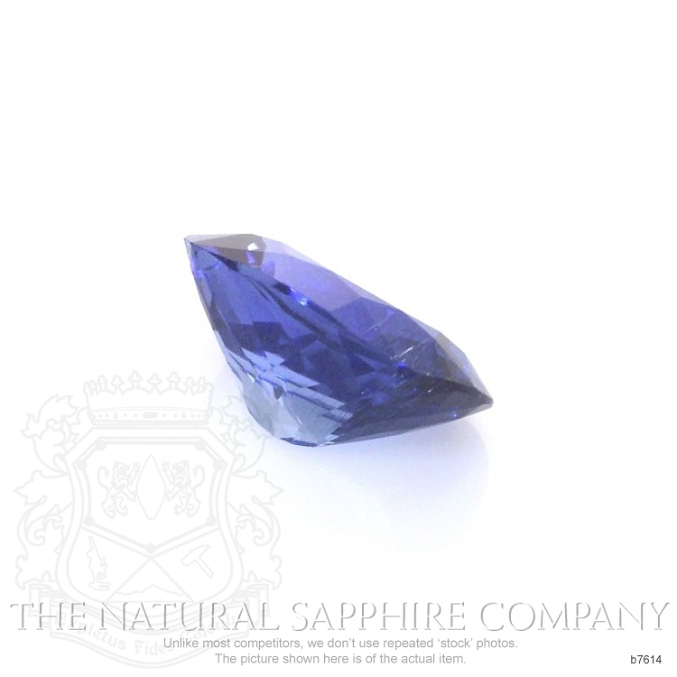 Natural Blue Sapphire B7614 Image 3