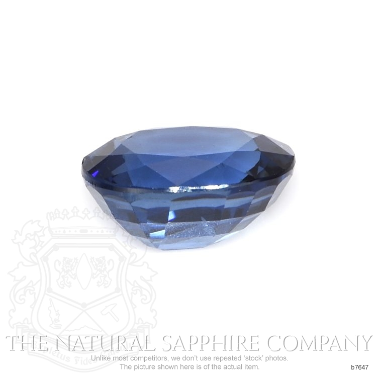 Natural Untreated Blue Sapphire B7647 Image 2