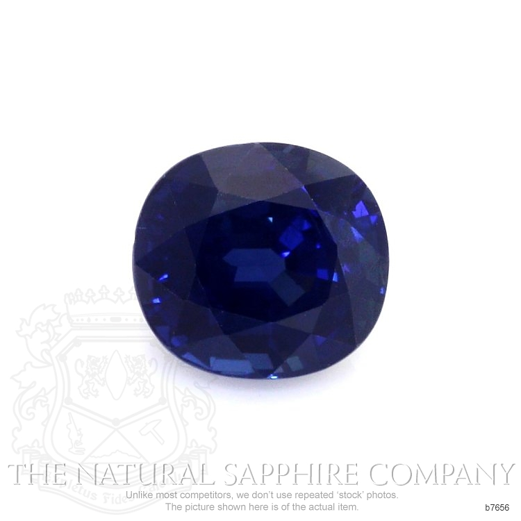 Natural Untreated Blue Sapphire B7656 Image
