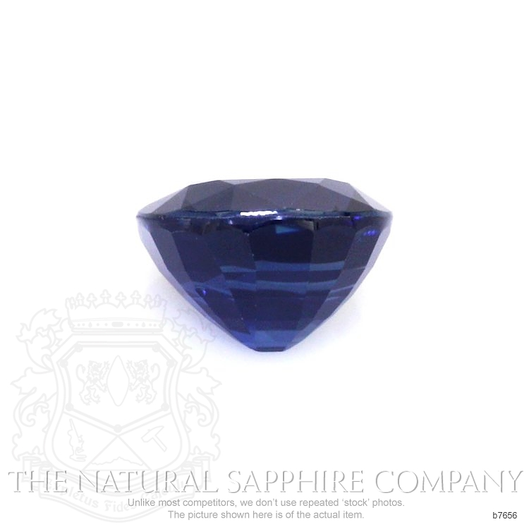 Natural Untreated Blue Sapphire B7656 Image 2