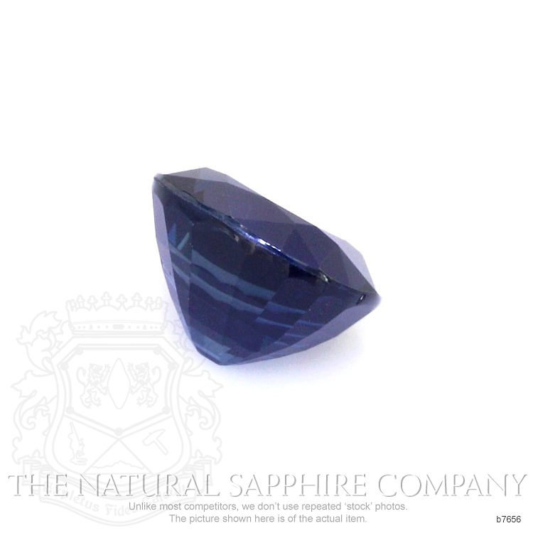 Natural Untreated Blue Sapphire B7656 Image 3