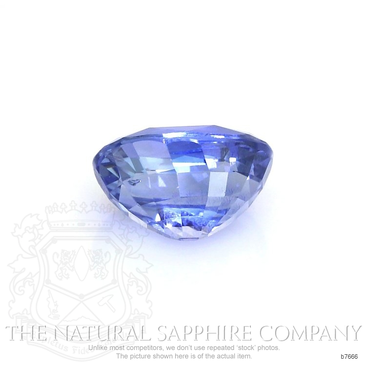 Natural Untreated Blue Sapphire B7666 Image 2