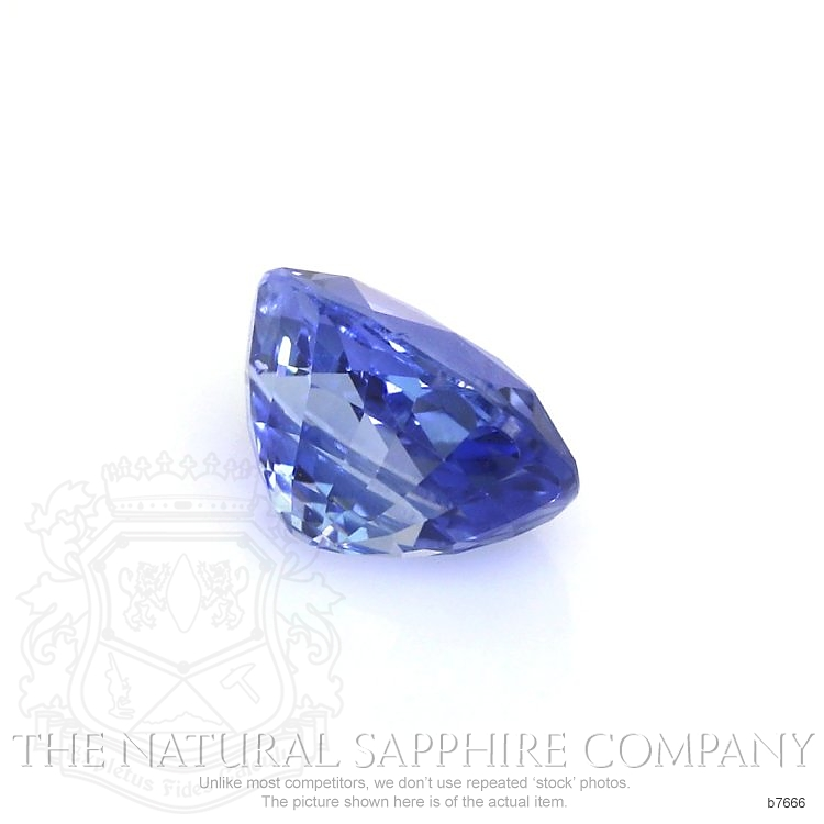 Natural Untreated Blue Sapphire B7666 Image 3