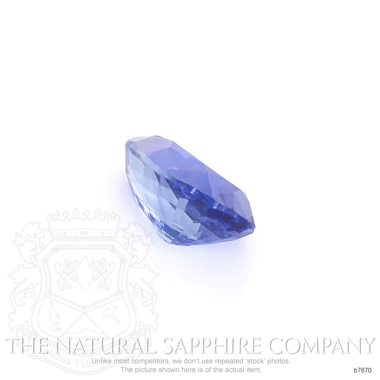 Natural Untreated Blue Sapphire B7670 Image 3