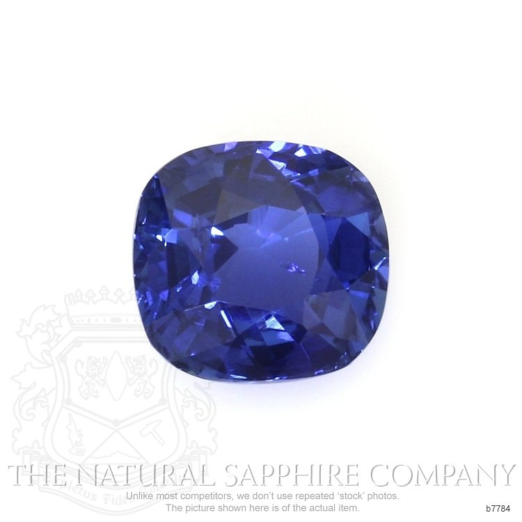 Natural Untreated Blue Sapphire B7784 Image