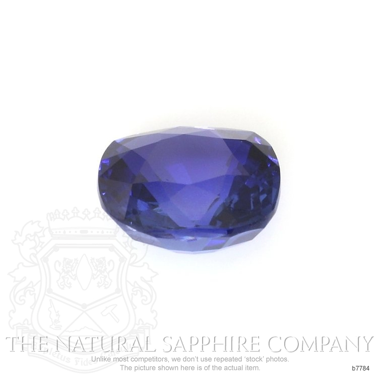 Natural Untreated Blue Sapphire B7784 Image 2