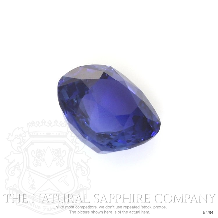 Natural Untreated Blue Sapphire B7784 Image 3