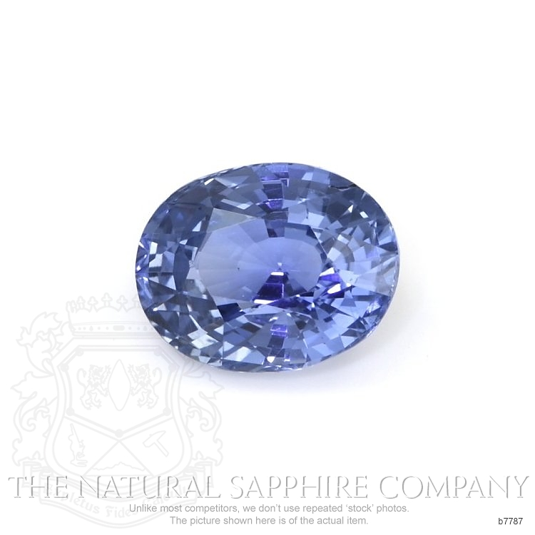 Natural Untreated Blue Sapphire B7787 Image
