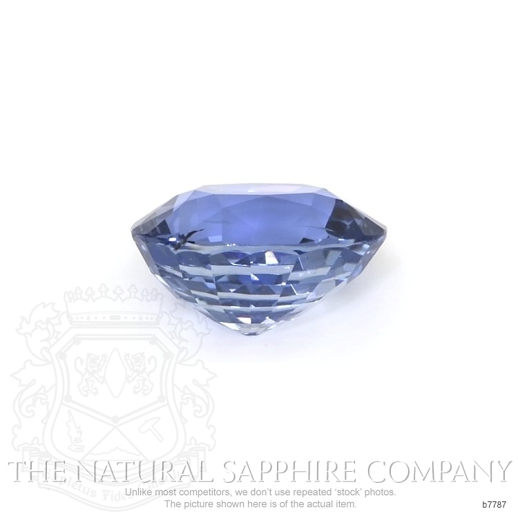 Natural Untreated Blue Sapphire B7787 Image 2