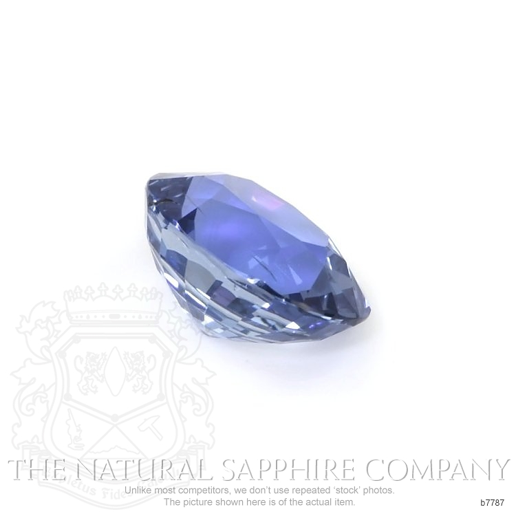 Natural Untreated Blue Sapphire B7787 Image 3